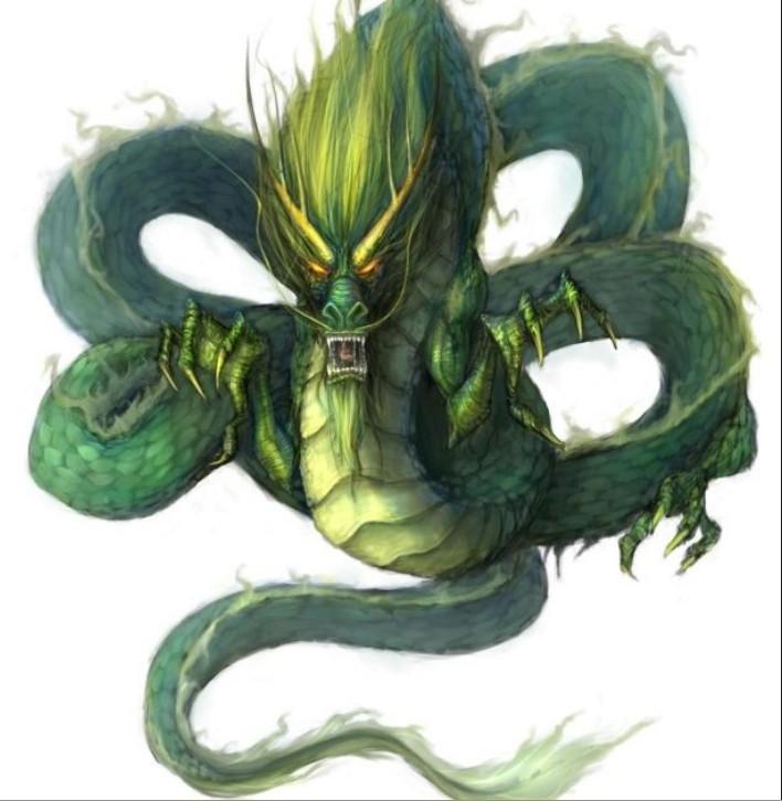 上古神兽中蛇的图片